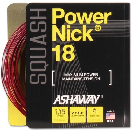 Squashový výplet Ashaway Power Nick 18, 9m