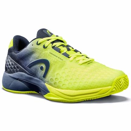 Pánská tenisová obuv Head Revolt Pro 3.0 Clay, neon yellow