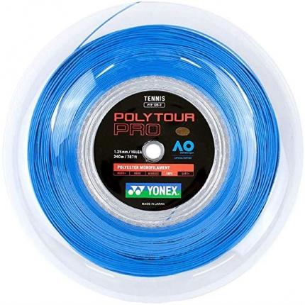Tenisový výplet Yonex Poly Tour Pro 200m, 1.25 blue