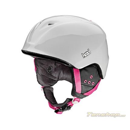 Dámská lyžařská helma Head Cloe wh/pk, 2014/15