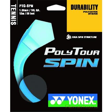 Tenisový výplet Yonex Poly Tour Spin 12m