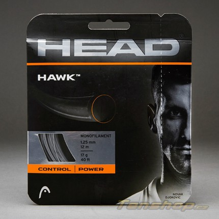 Tenisový výplet Head Hawk 11m, 1.25 white