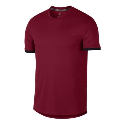 Pánské tenisové tričko Nike Court Dry Tee, team crimson