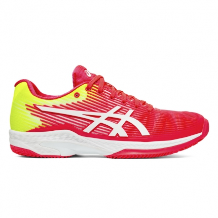 Dámská tenisová obuv Asics Solution Speed FF Clay, laser pink