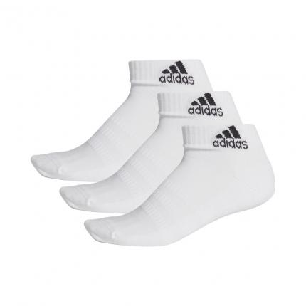 Tenisové ponožky Adidas Cushioning 3er Pack Ankle Socks Unisex, white
