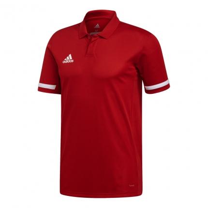 Pánské tenisové tričko Adidas T19 Polo, power red