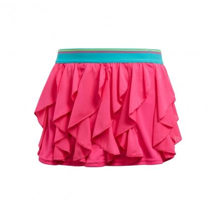 Dětská tenisová sukně Adidas Frilly Skirt, shock pink