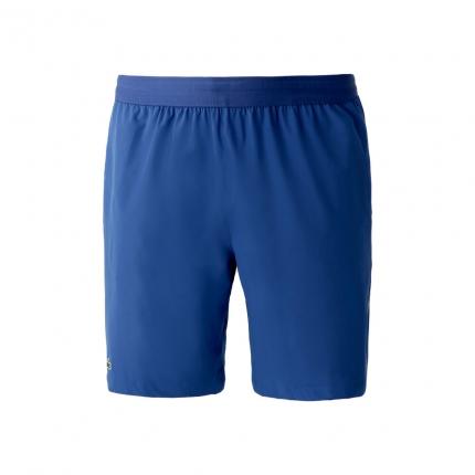 Pánské tenisové kraťasy Lacoste Novak Djokovic Shorts, bleu roi