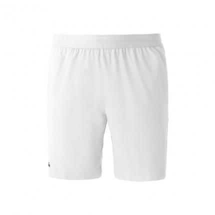 Pánské tenisové kraťasy Lacoste Novak Djokovic Shorts, blanc