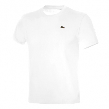Pánské tričko Lacoste T-Shirt Technical Jersey, white