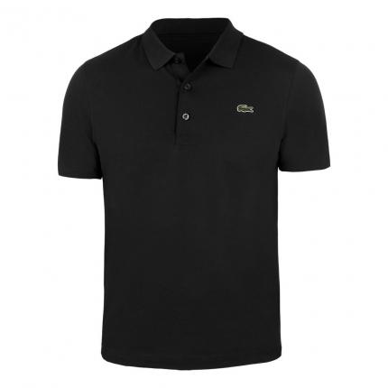 Pánské tenisové tričko Lacoste Regular Fit Polo, black