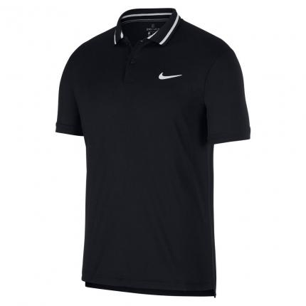 Pánské tenisové tričko Nike Court Dri-Fit Tennis Polo, black