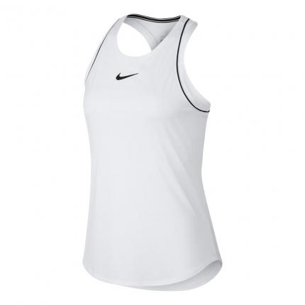 Dámské tenisové tílko Nike Court Dry Tank, white