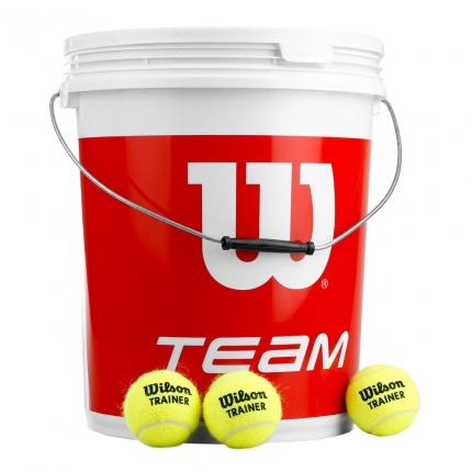 Tenisové míče Wilson Team Trainer 72 ks