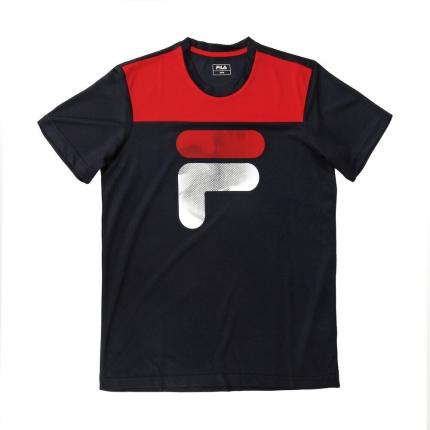 Pánské tenisové tričko Fila T-Shirt Tim, peacoat blue
