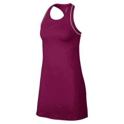 Tenisové šaty Nike Court Dry Dress, true berry