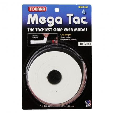 Omotávky Tourna Mega Tac 10er, white