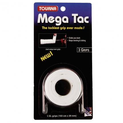 Omotávky Tourna Mega Tac 3er, white