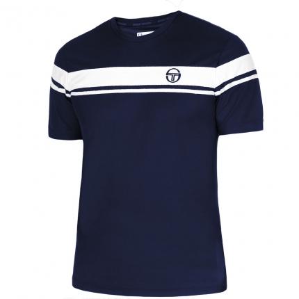 Pánské tenisové tričko Sergio Tacchini Young Line Pro T-Shirt, navy