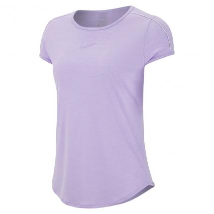 Dámské tenisové tričko Nike Court Dry Tennis Tee, purple agate