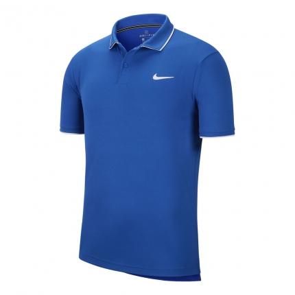 Pánské tenisové tričko Nike Court Dry Polo, game royal