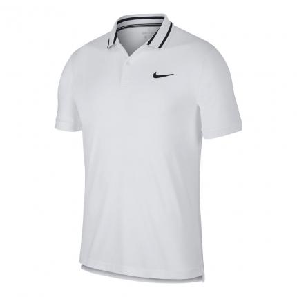 Pánské tenisové tričko Nike Court Dri-Fit Tennis Polo, white