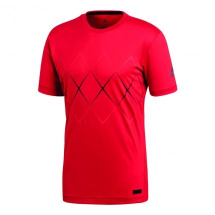 Pánské tenisové tričko Adidas Barricade Tee, scarlet