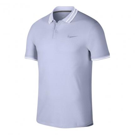 Pánské tenisové tričko Nike Court Advantage Polo, oxygen purple