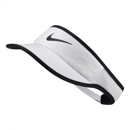 Tenisový kšilt Nike Court AeroBill Tennis Visor, white/black