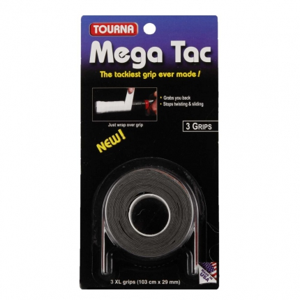 Omotávky Tourna Mega Tac 3er, black