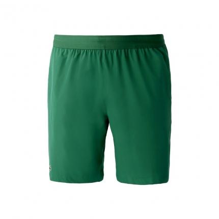 Pánské tenisové kraťasy Lacoste Novak Djokovic Shorts, yucca