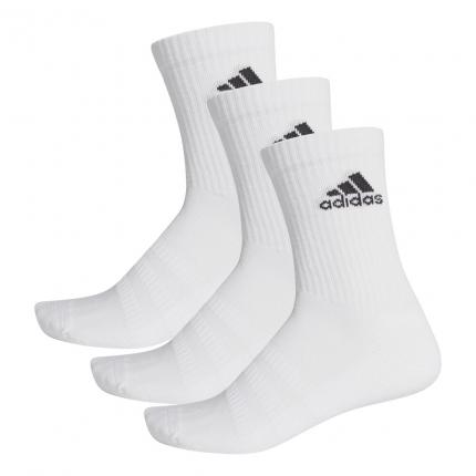 Tenisové ponožky Adidas Cushioning 3er Pack Crew Socks Unisex, white