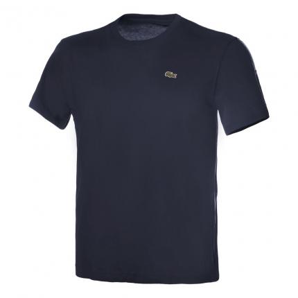 Pánské tričko Lacoste T-Shirt Technical Jersey, navy blue