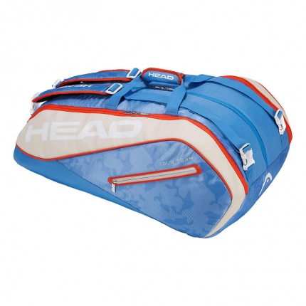 Tenisová taška Head Tour Team 12R Monstercombi, light blue