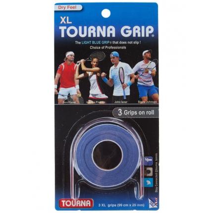 Omotávky Tourna Grip XL 3er, blue