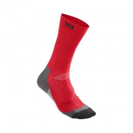 Tenisové ponožky Wilson Color High-End Crew 1er Pack Socks Unisex, wilson red