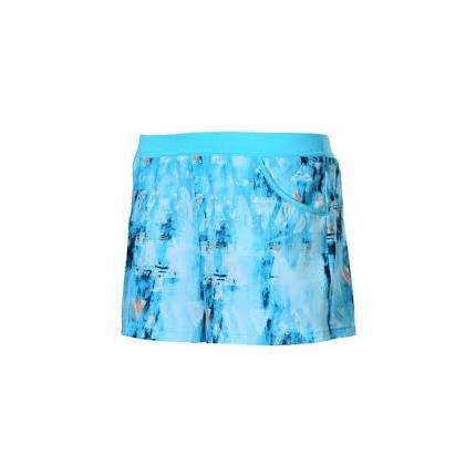 Dívčí tenisové kraťasy Adidas Melbourne Line Short, samba blue