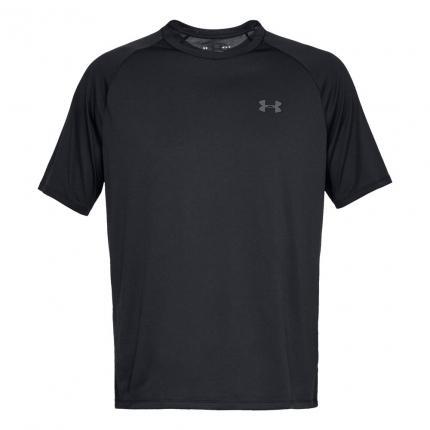 Pánské tričko Under Armour Tech Shortsleeve Tee, black