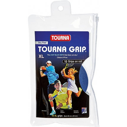 Omotávky Tourna Grip XL 10er, blue