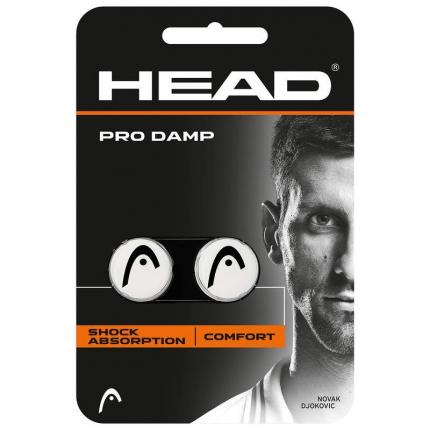 Tenisové vibrastopy Head Pro Damp, white