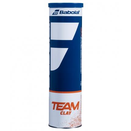 Tenisové míče Babolat Team Clay, 4 ks