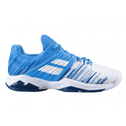 Pánská tenisová obuv Babolat Propulse Fury All Court Men, white/blue