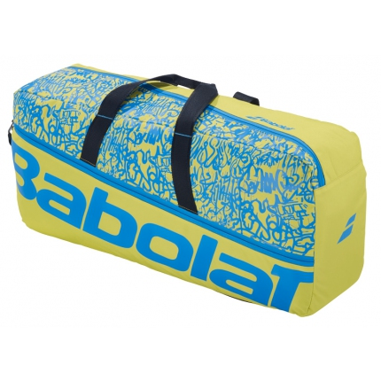 Tenisová taška Babolat Duffle M Classic 2020, lime