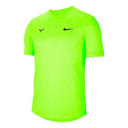 Pánské tenisové tričko Nike Rafael Nadal Challenger T-Shirt, neongreen