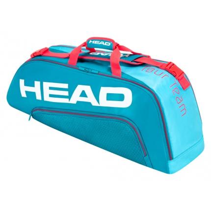 Tenisová taška Head Tour Team 6R Combi 2020, blue/pink