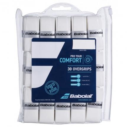 Omotávky Babolat Pro Tour X30, white