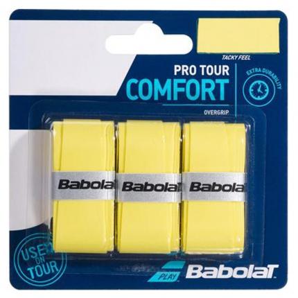 Omotávky Babolat Pro Tour X3, yellow
