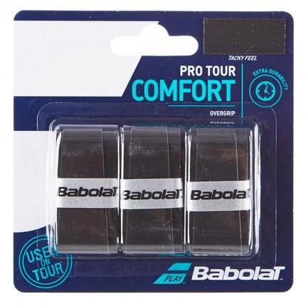 Omotávky Babolat Pro Tour X3, black