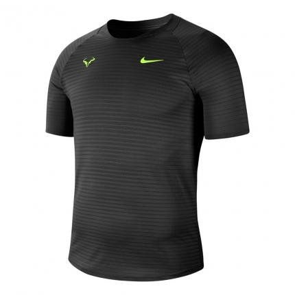 Pánské tenisové tričko Nike Rafael Nadal Court AeroReact Slam T-Shirt, black