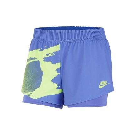 Dámské tenisové kraťasy Nike Court Slam Shorts, flieder